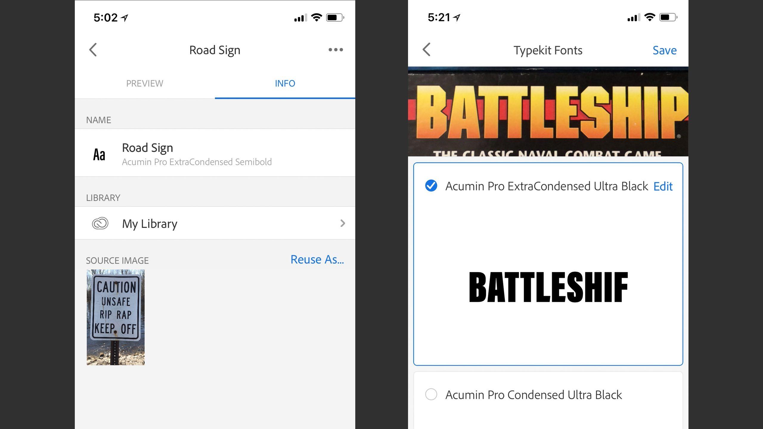 APP比较:用iPhone识别字体的最佳应用程序