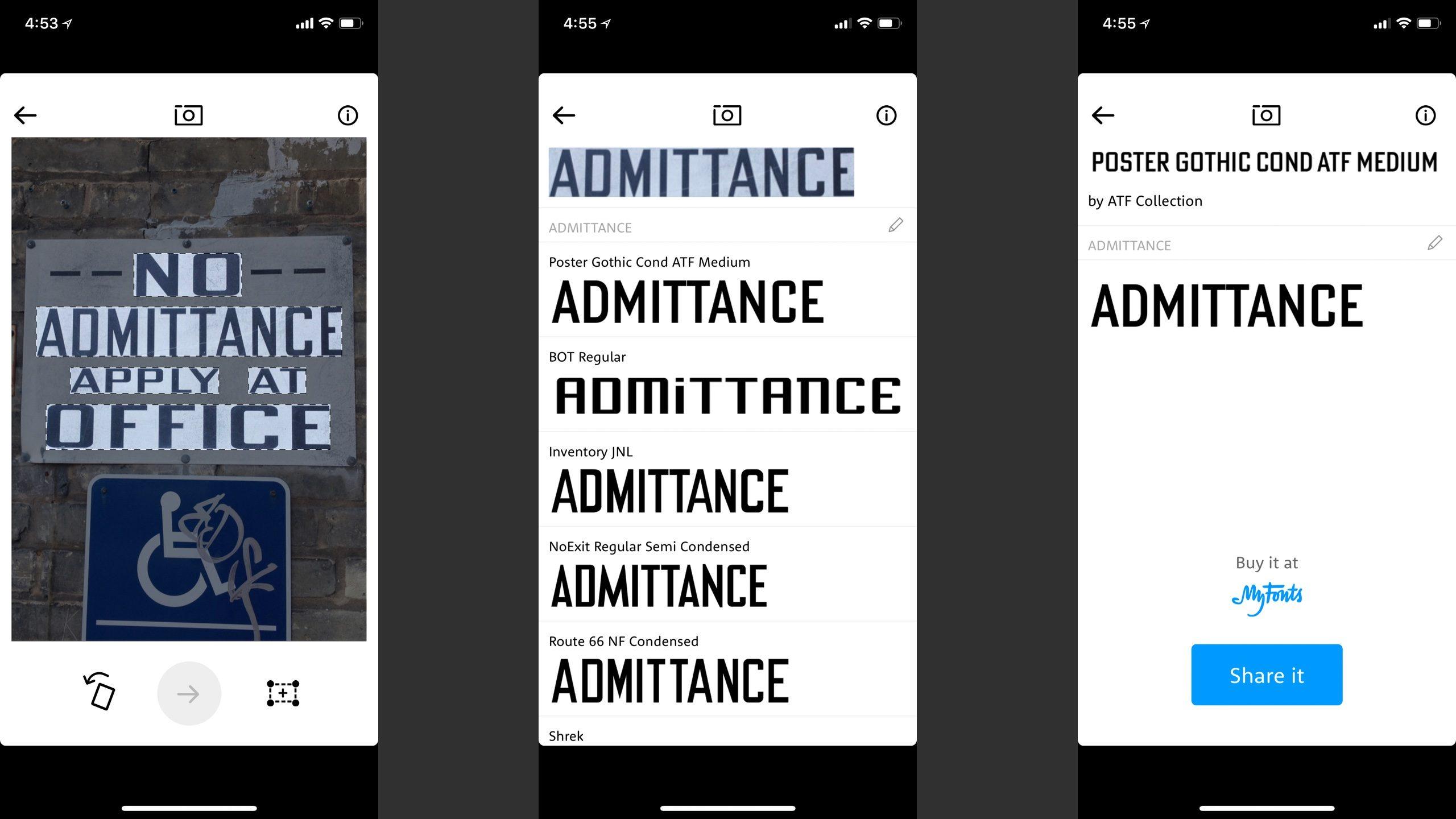 APP推荐:用iPhone识别字体的最佳应用程序 37